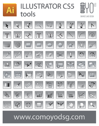 Illustrator CS5 tool icon