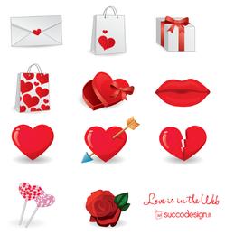 Conjunto de iconos de Vector libre 3