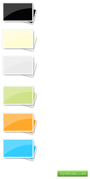Vector de elementos de oficina