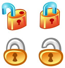 Free Vector Lock Icons
