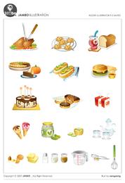 Kitchen utensils, such as