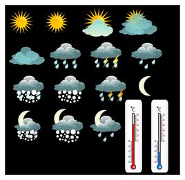 schönes Wetter-Symbol 3