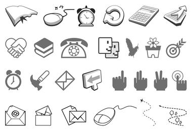 ícones de botão de adesivos angulares