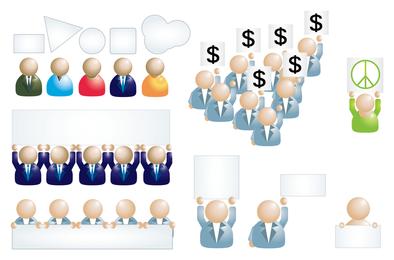 Ícone de pessoas de negócios 1