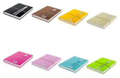Icono de libro de color
