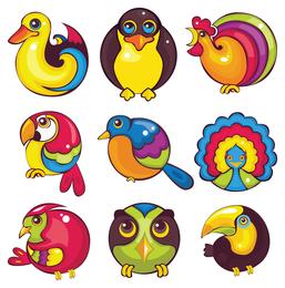 ícone de animais dos desenhos animados 1
