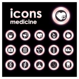 ícone circular de tendência 2