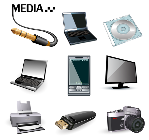Digital product icon vector