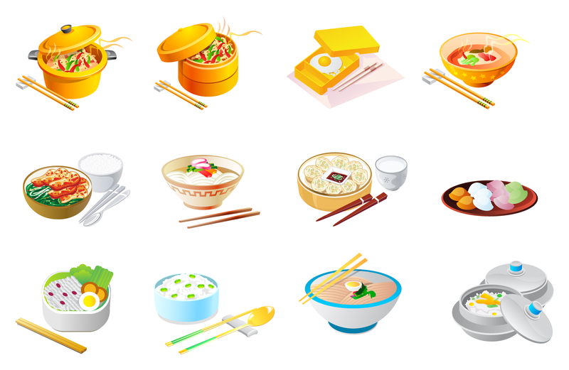 Chinese Food Icon Vector - Vector download