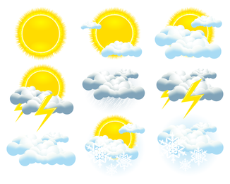 Weather Icon Vector 2