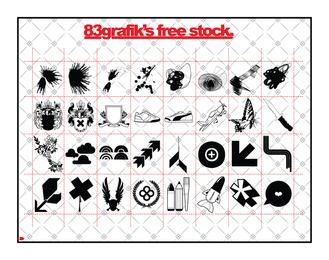 Misc geometric icon set design