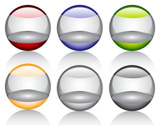 Glossy orb set