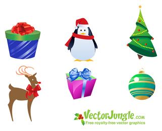 Pack de iconos de Navidad