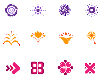 Icon Design Elements Set