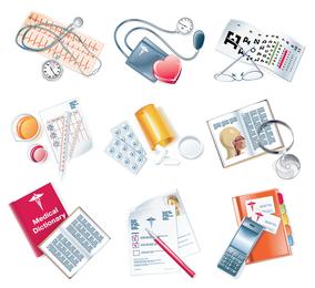 vetor de ícone médico
