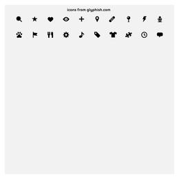 ícone de gráficos vetoriais simples