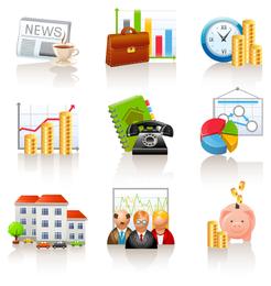 Icono comercial y financiero 3