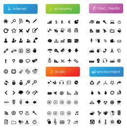 black simple icon vector