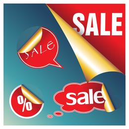 vendas de vetor prático ícone