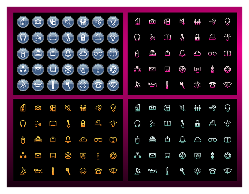 Free Vector Icons Packs