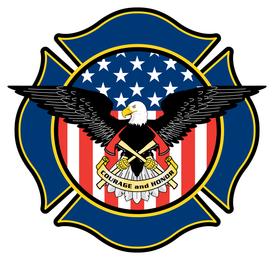 Escudo do departamento de fogo