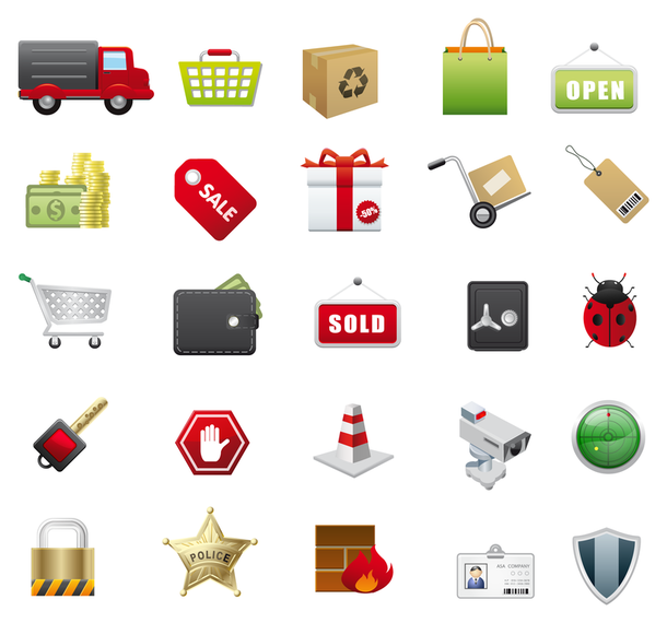 E Commerce Vector Icons