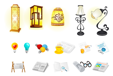 Cool Vector Object Icons
