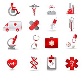 Health Care Icon Set