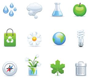 Vetor de ícone ambiental 4