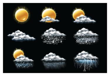 schönes Wetter-Symbol 5