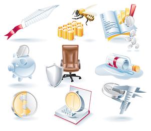 Misc 3D icon set