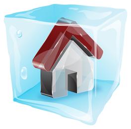 Web-Style Frozen 3D Vector