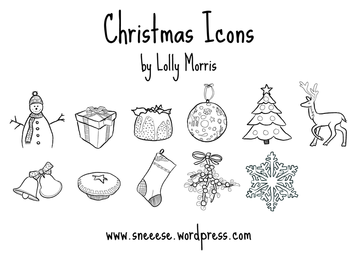 Free Illustrated Christmas Vector