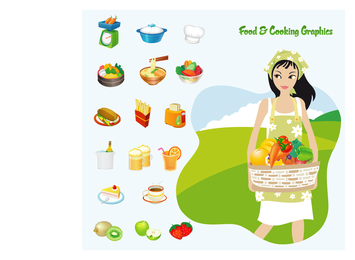 Food & Cooking Vector