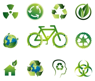 Green Bio Vector Icon