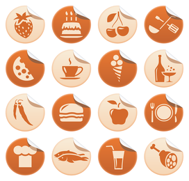 roll angle icon vector
