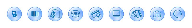 9 iconos vectoriales de comercio electrónico