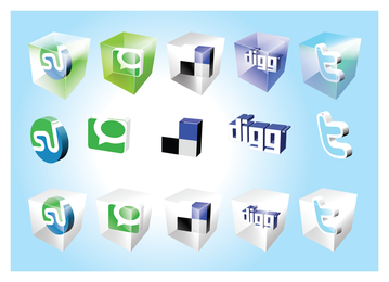 Social Bookmark Icons 2