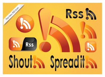 Iconos de fuentes RSS