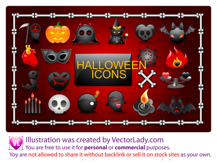 Vector Halloween Icons