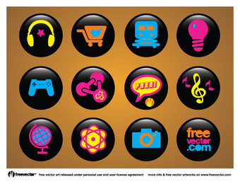Icons Schaltflächen