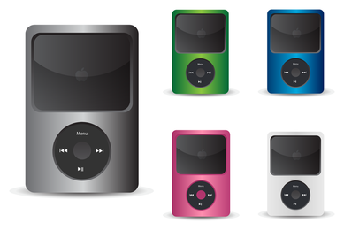 Ipod mockup template set