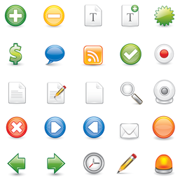 Conjunto de ícones básicos