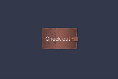 Free Vector Checkout Button