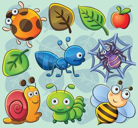 Der reizende Vektor der Insektenpflanze-02