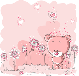 Lovely Illustrator 02 Vector