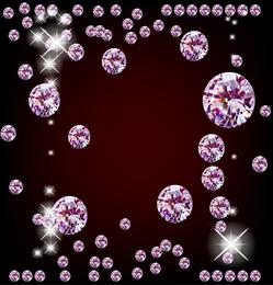 Dazzling Diamond 02 Vector