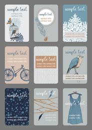 Illustration Card 03 Vector
