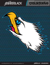 Árboles de golondrina halcones vectoriales