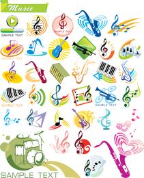 Gráficos vectoriales tema música